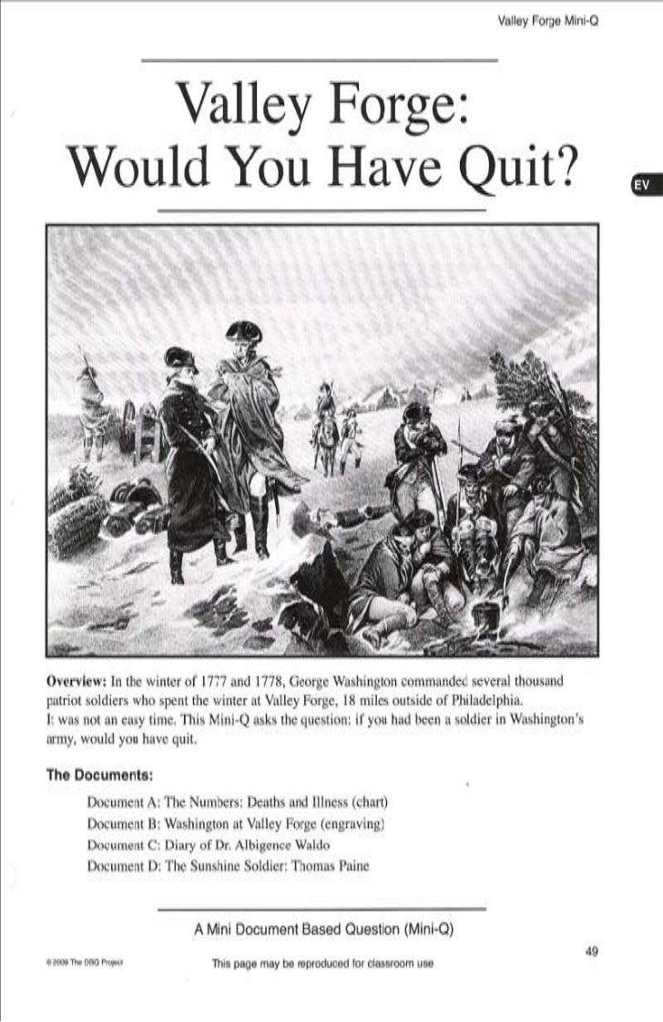 Mini-Qs in American History