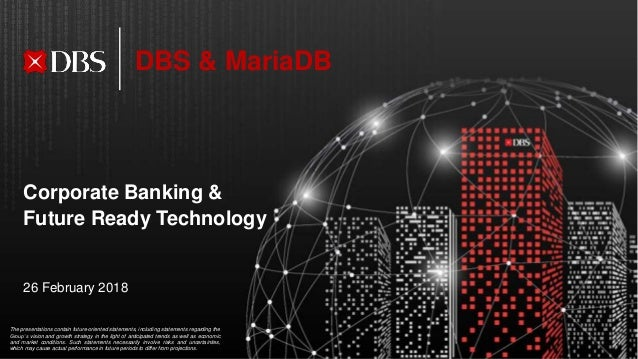 M|18 DBS Bank's Journey with MariaDB