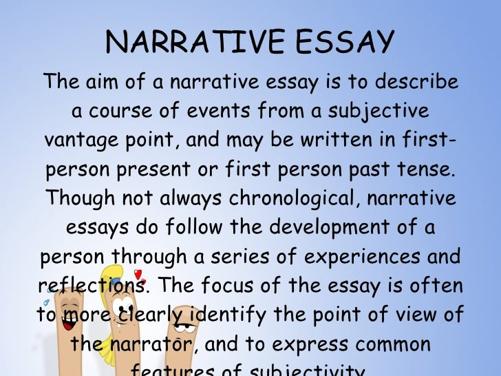 types of essay 5 narrative essay