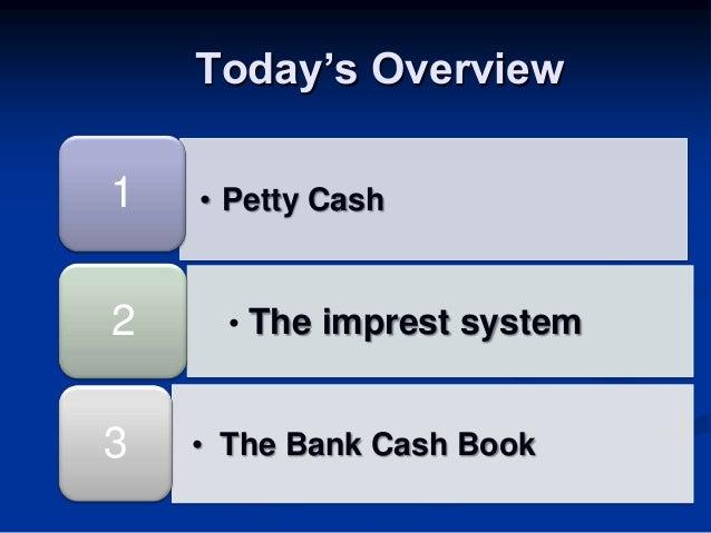 imprest cash