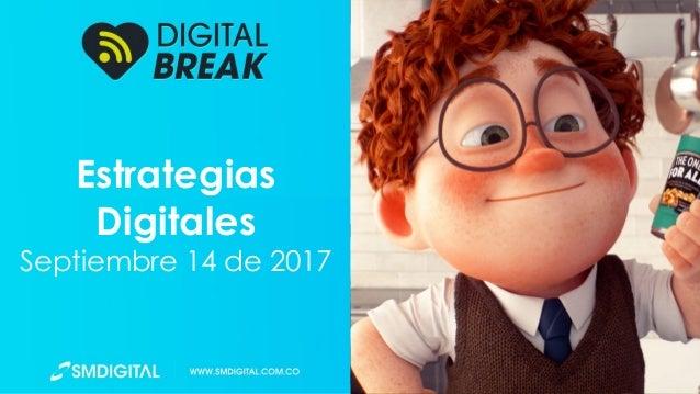 Estrategias Digitales Septiembre 14 de 2017