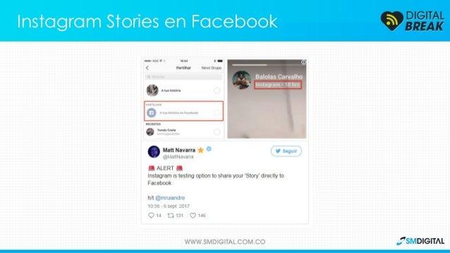 Algunos usuarios ya pueden compartir sus historias de Instagram como historias de Facebook. Instagram Stories en Facebook