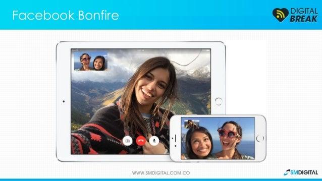Facebook lanza su servicio de video chat en grupo, pero algunos lo acusan de plagio. Facebook Bonfire Un nuevo servicio qu...