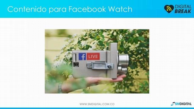 Facebook revela su presupuesto para crear contenido propio que será distribuido en Facebook Watch. Contenido para Facebook...