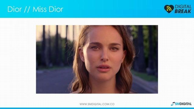 Dior // Miss Dior La nueva campaña de Dior busca romper los estereotipos de la publicidad de perfumes.