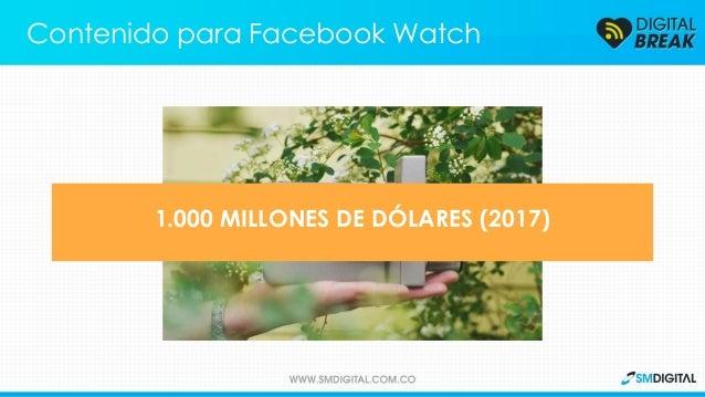 Contenido para Facebook Watch 1.000 MILLONES DE DÓLARES (2017)