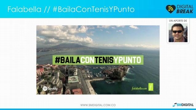 Los protagonistas de un video viral ahora aparecen en la nueva campaña de Falabella Falabella // #BailaConTenisYPunto