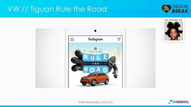 El concurso en Instagram con el que Volkswagen presenta su nueva Tiguan. VW // Tiguan Rule the Road