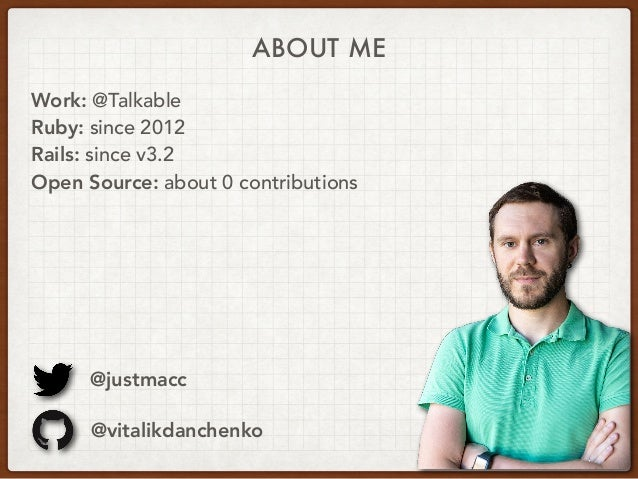 Database Sharding in Rails Applications – Vitalik Danchenko | Ruby Meditation #23 Slide 2