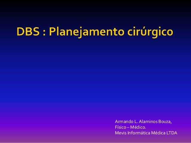 Armando L. Alaminos Bouza, Físico – Médico. Mevis Informática Médica LTDA