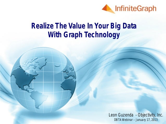Realize The Value In Your Big Data              With Graph Technologywww.Objectivity.com                              Leon...