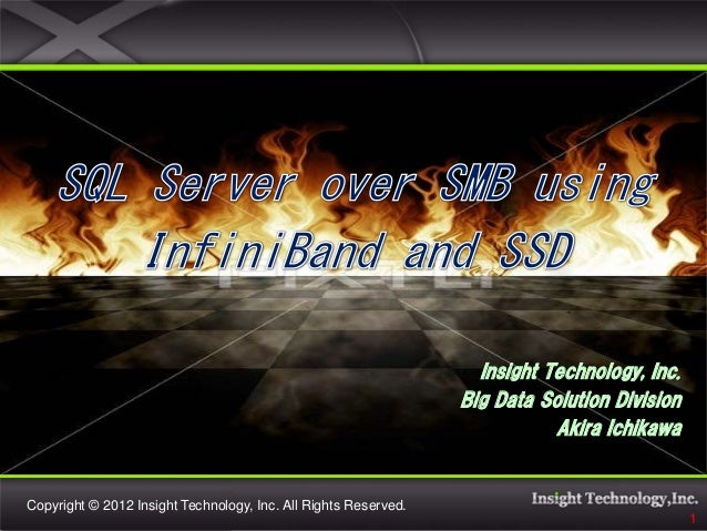 Insight Technology, Inc.                                                                 Big Data Solution Division       ...