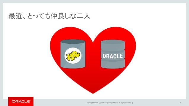Copyright © 2016, Oracle and/or its affiliates. All rights reserved.   最近、とっても仲良しな二人 3