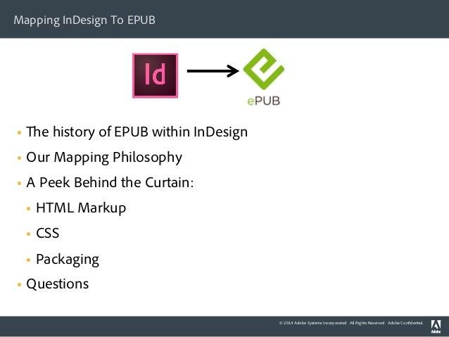 epub toc indesign cc pdf