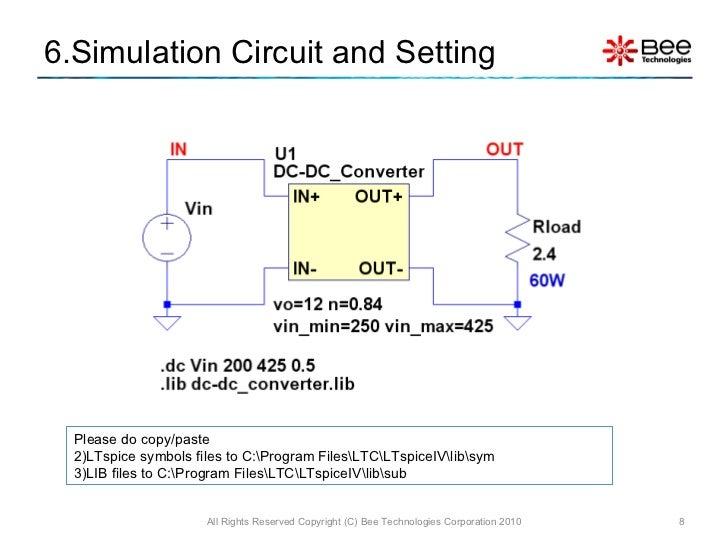DC/DC Converter (LTspice Model)