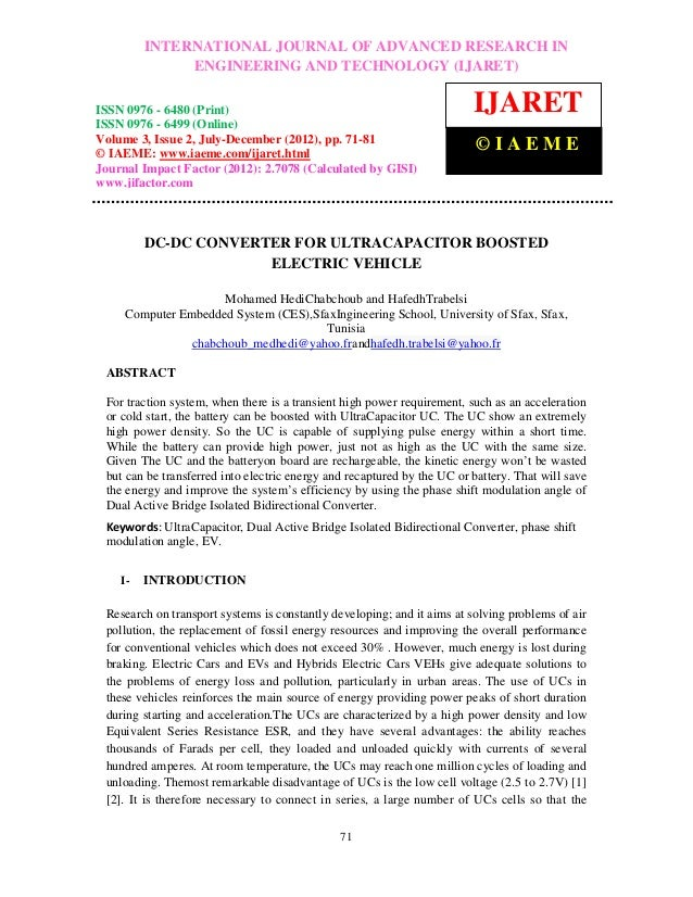 International Journal of Advanced Research in Engineering and Technology (IJARET), ISSN IN –          INTERNATIONAL JOURNA...
