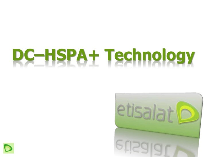 DC–HSPA+ Technology