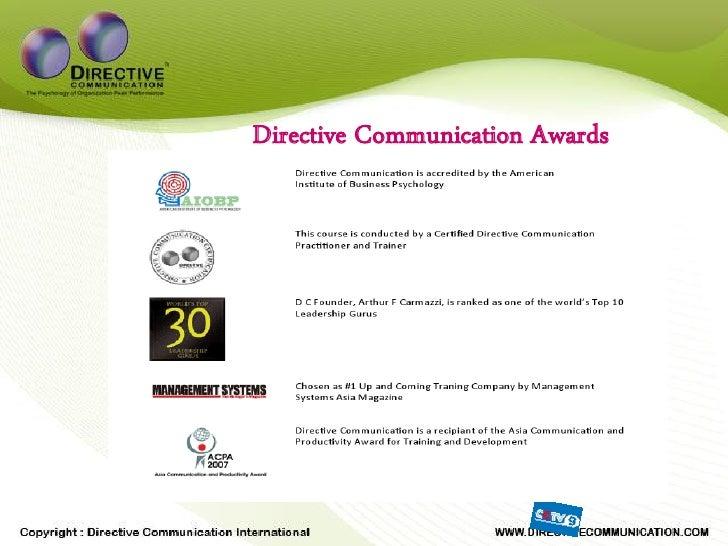 Directive Communication Awards
