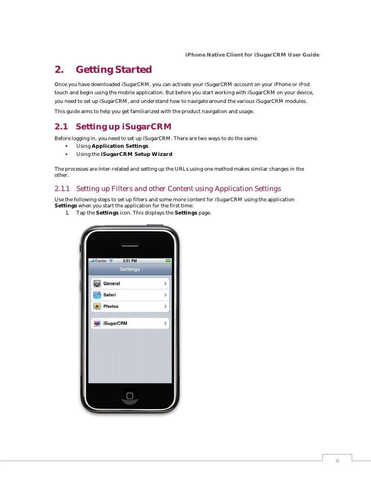imaginea sugarcrm iphone app user guide rh slideshare net iPhone 8 Plus User Guide iPhone 4S User Guide for Dummies