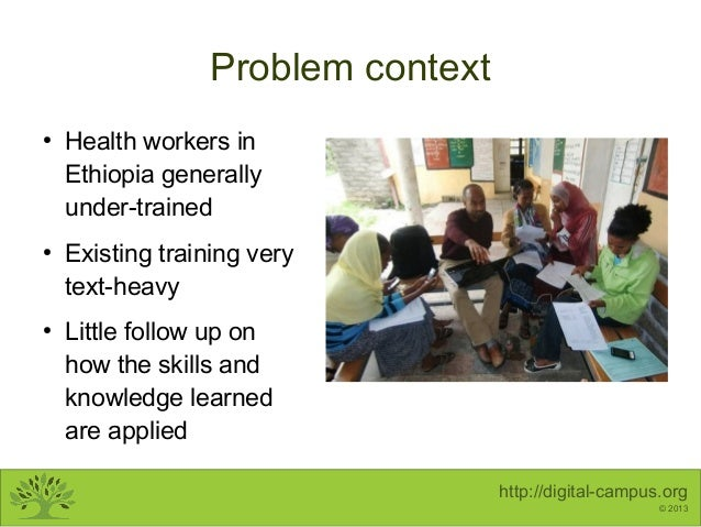 Mobile Learning for Health Workers - DaeSav 2013 Slide 2