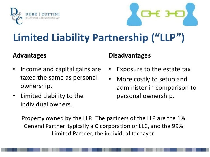 What are the advantages and disadvantages of a partnership