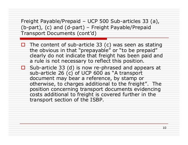 lc and ucp 600 Blog latest articles articles by month june 2018  ucp 600 sub-article 37 (d)  lc's that exclude specific articles / sub-articles of ucp next steps.