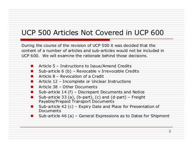 lc and ucp 600 Users'handbook for documentary credits under ucp 600 walter (buddy) baker and john f dolan foreword by donald r smith u icc publication no 694 isbn: 978-92-842-0043-6 icc business bookstore  a letter of credit confirmed by a bank based and operating in another country is payable.