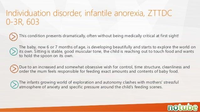 infantile anorexia symptoms