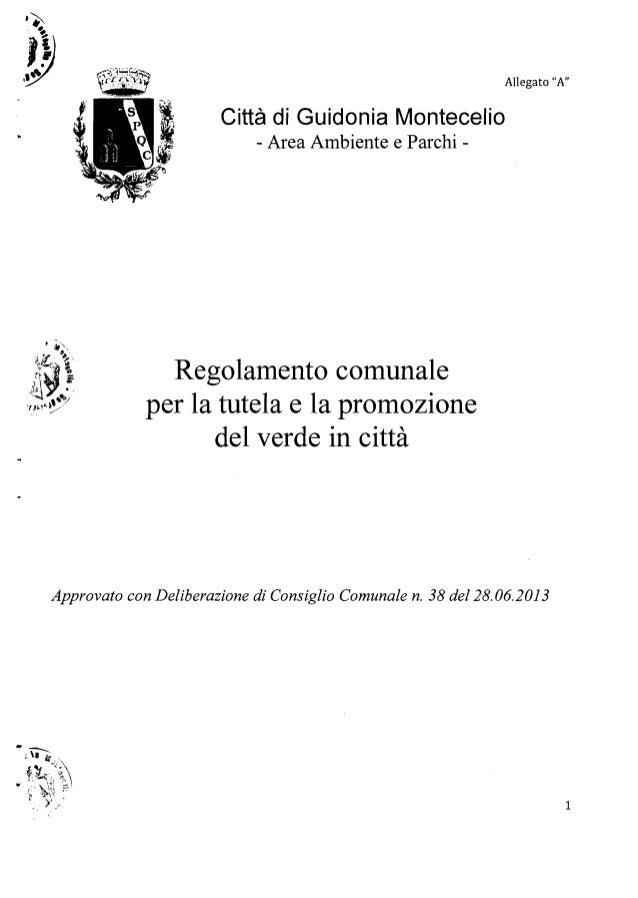 """,~ ')l ....-.~~1lL:::....:..::r..:..;;~. ~~ """"..""""'7""""""""'r.. ~:""""l-"""",;Y Allegato """"A""""'~~:t;,.~~x~i Città di Guidonia Montecelio ..."""