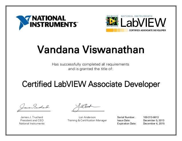 CLAD certificate