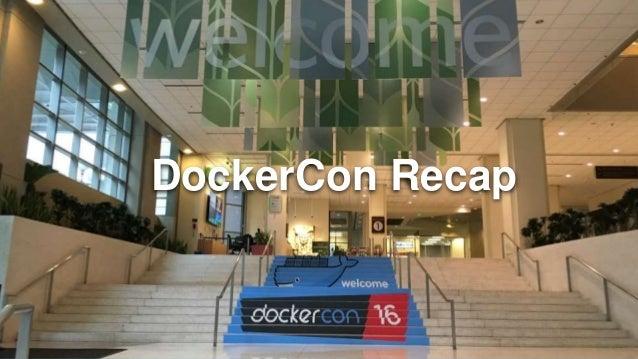 DockerCon Recap