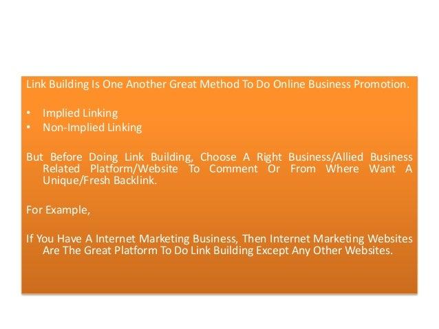 Link Building Unique Or Advanced Fresh Backlinking Methodology Slide 2