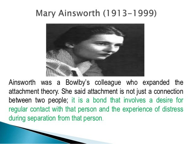 attachment theory essay introduction Introduction attachment to their caregivers in children occurs this essay will explain how the attachment theory can be applied by teachers to help students.