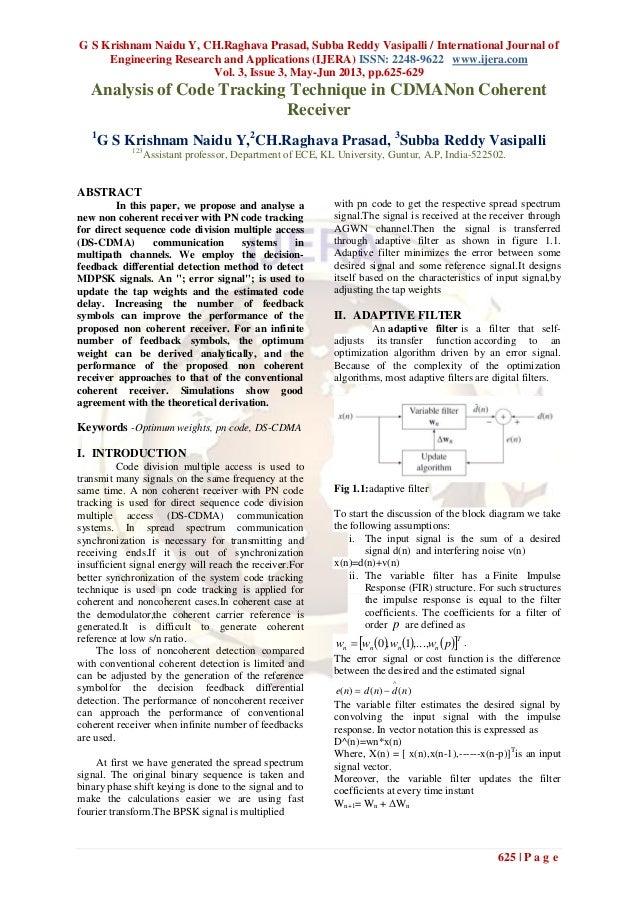 G S Krishnam Naidu Y, CH.Raghava Prasad, Subba Reddy Vasipalli / International Journal ofEngineering Research and Applicat...
