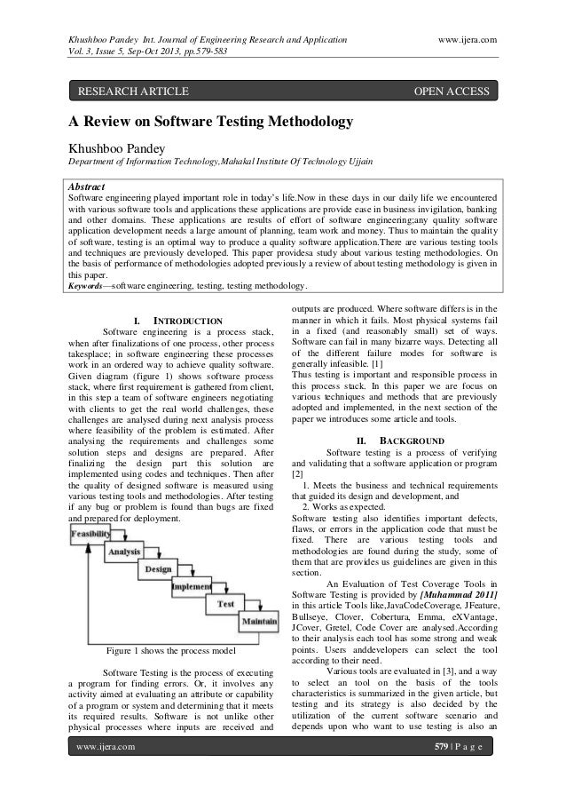 Khushboo Pandey Int. Journal of Engineering Research and Application www.ijera.com Vol. 3, Issue 5, Sep-Oct 2013, pp.579-5...