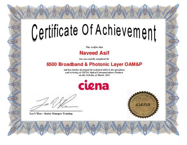 Ciena Learning - Ciena