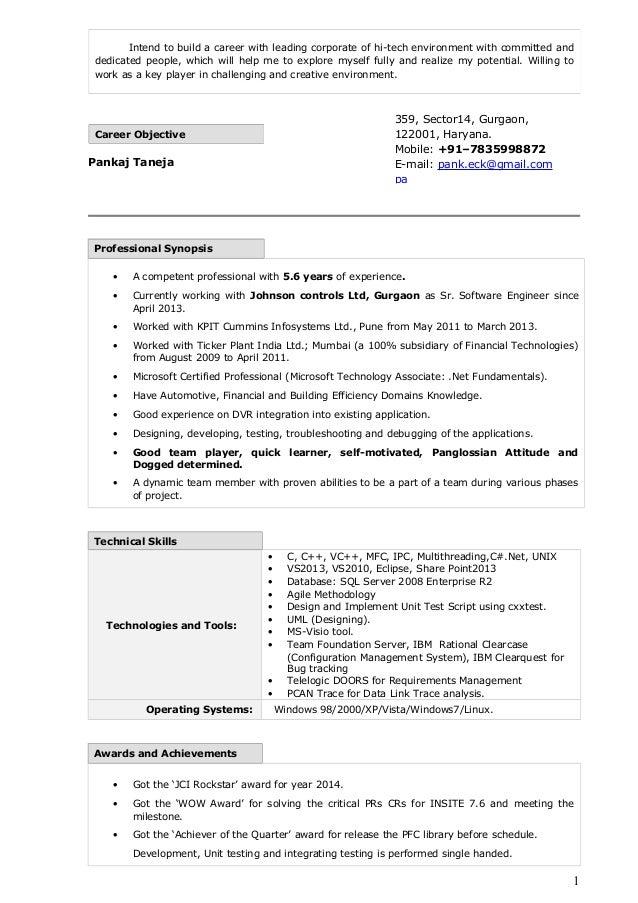Resume_PankajTaneja_Infosystem