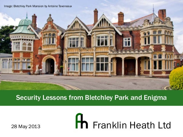 bletchley park coursework Bletchley park in buckinghamshire was britain's main decryption establishment during world war two ciphers and codes of several axis countries were decrypted.