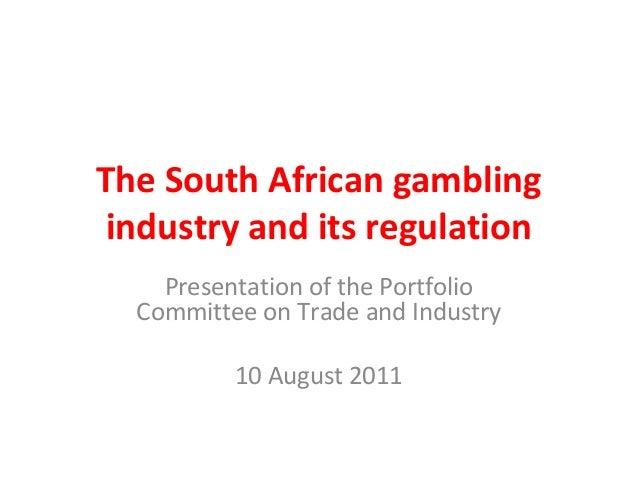 South africa gambling regulation
