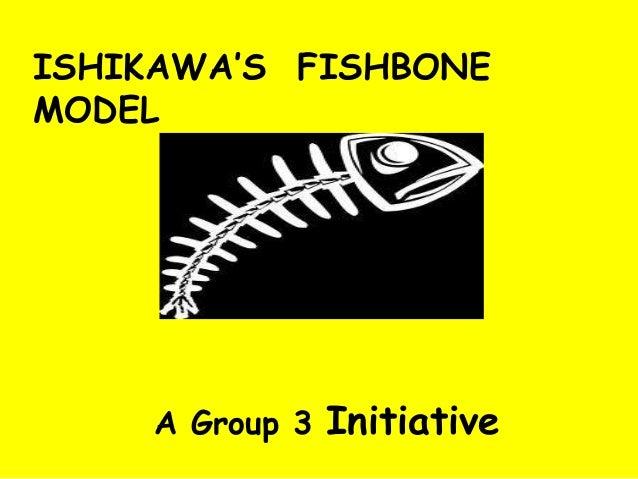 ISHIKAWA'S FISHBONE MODEL A Group 3 Initiative