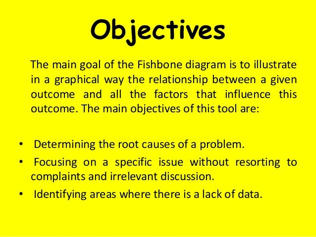 Analysis of Ishikawa Diagram • A brainstorming session to generate potential causes can come up with many potential causes...