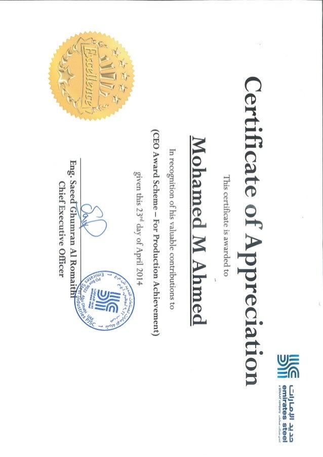 08 certificate of appreciation ceo award scheme for production ac 08 certificate of appreciation ceo award scheme for production achievement april 2014 yadclub Images