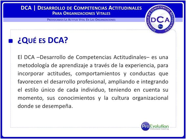 ProEvolution | NUEVA TECNOLOGIA DE SERVICIOS DCA Slide 2