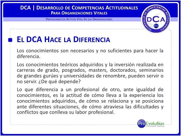 ProEvolution | NUEVA TECNOLOGIA DE SERVICIOS DCA Slide 3