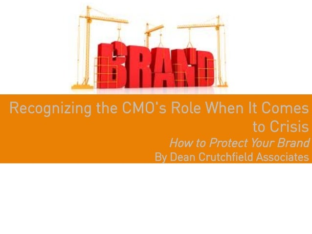 Recognizing the CMOs Role When It Comes                                 to Crisis                      How to Protect Your...