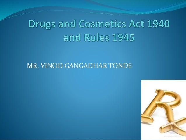 1  MR. VINOD GANGADHAR TONDE