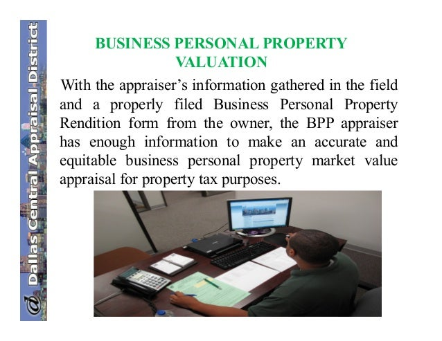 Business Personal Property Rendition Texas