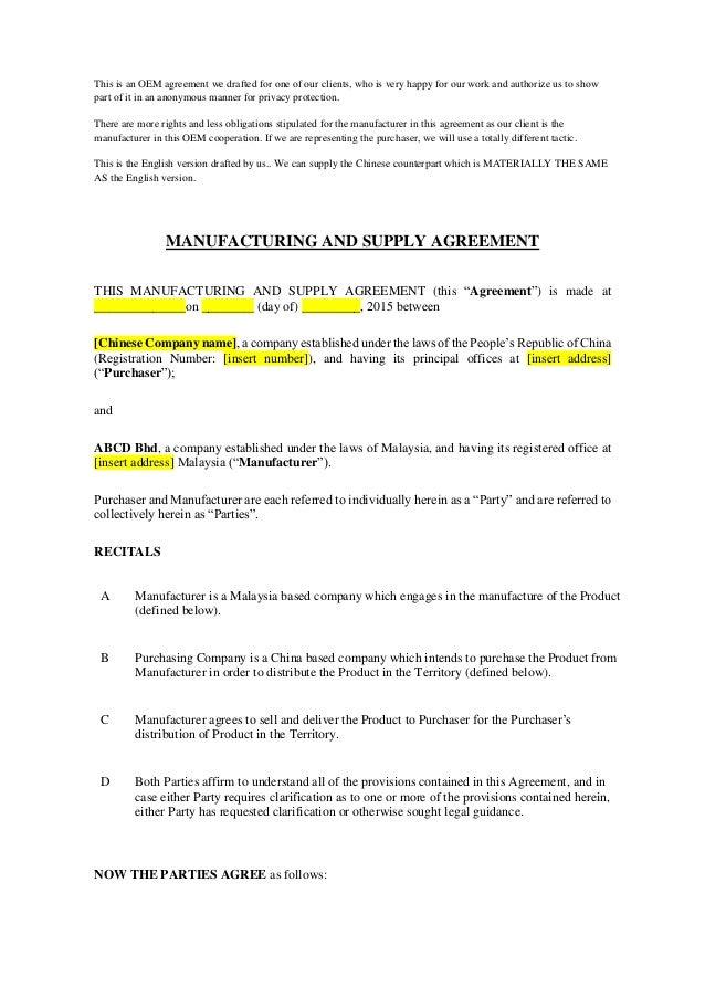 Agreement Sample Vaydileforic