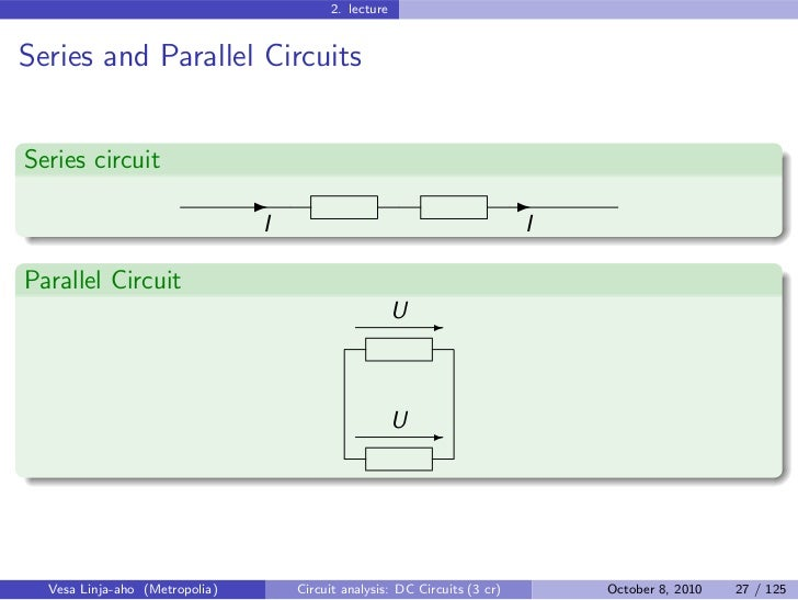 Circuit Analysis Dc Circuits