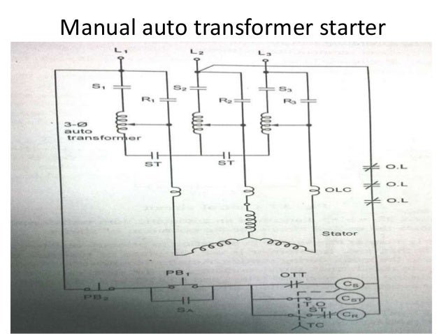dc and ac motor starter 18 638?cbd1469199632 autotransformer starter control circuit diagram efcaviation com auto transformer wiring diagram at soozxer.org